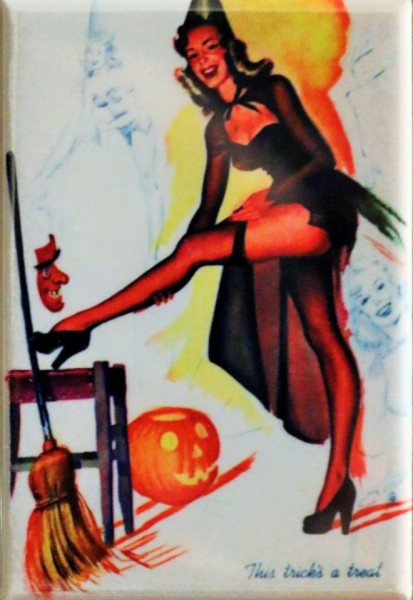sd2596-halloween-sexy-witch-fridge-magnet-jack-o-lantern-vintage-style-decor