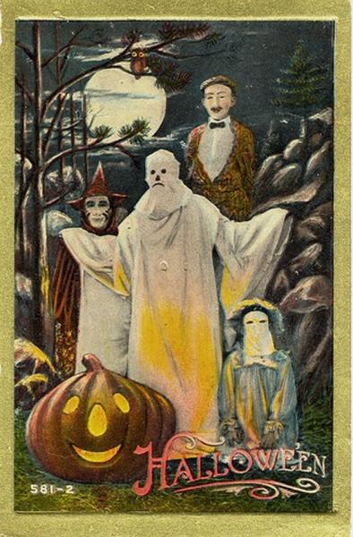 Vintage Halloween Cards (10)