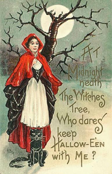 Vintage Halloween Cards (17)