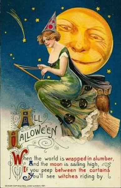 Vintage Halloween Cards (4)