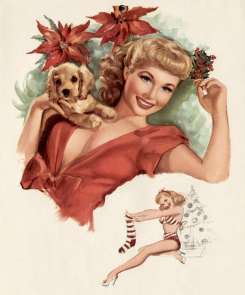 elvgren+pinup+girl+christmas+fun
