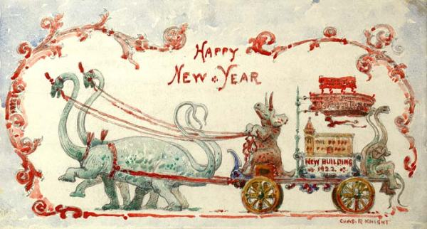 Charles_R._Knight_New_Yearss_Card