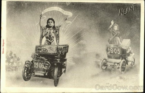 Strange+and+Creepy+New+Year's+Postcards+from+ca.+1900s-1910s+(13)