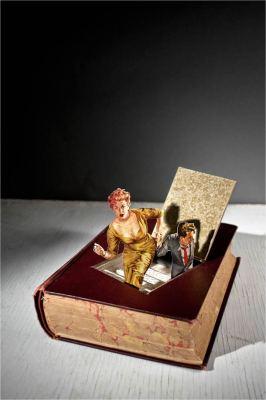 BOOK ART : THOMAS ALLEN… COUVERTURES et MISES ENSCENE