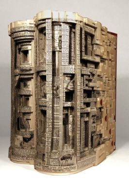 BOOK ART : BRIAN DETTMER…. DECOUPAGES, COLLAGES…