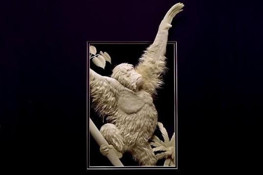 Calvin-Nicholls-Canada-Woodland-Paper-Art-Animals-5-537x358
