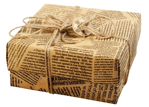 newspaper-gift-wrap-idea