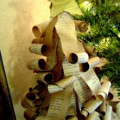 old-book-page-christmas-trees-christmas-paper-crafts