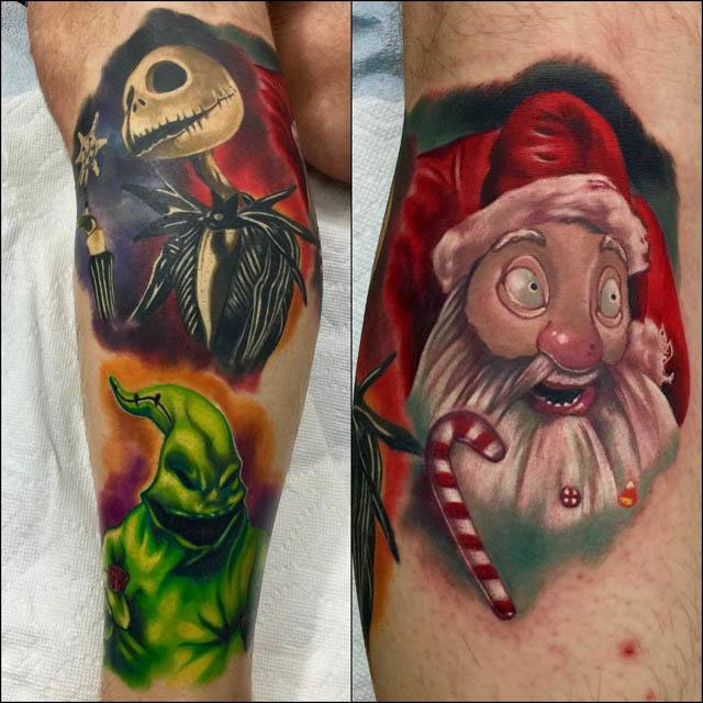 Nightmare-Before-Christmas-Leg-Piece-by-Audie-Fulfer-jr.jpg