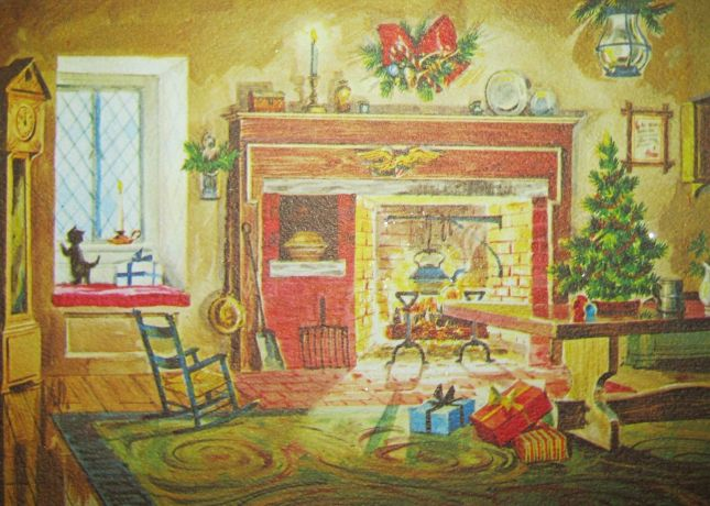 Vintage-Christmas-Card-Glitter-Fireplace-Cat-Window-Tree-_57.jpg