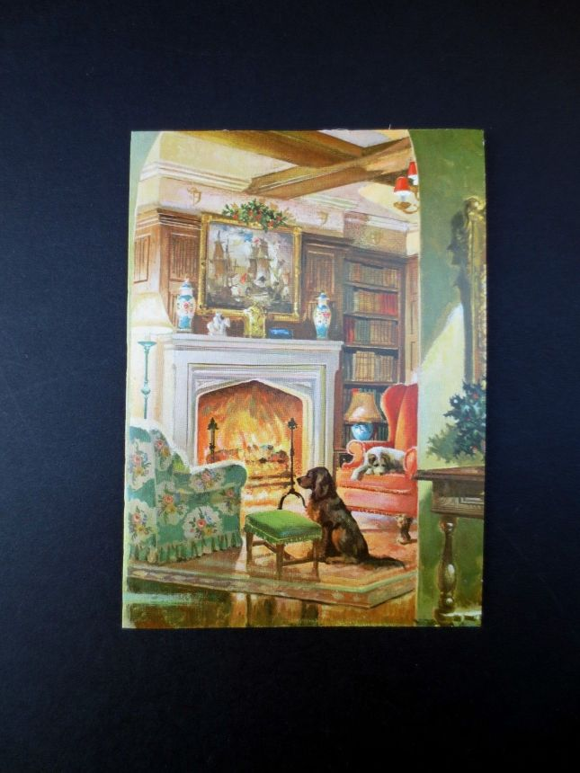 Vintage-Unused-Xmas-Greeting-Card-Family-Dogs-Enjoying.jpg