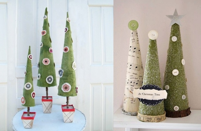Christmas tree stands -  Paper Christmas Trees, Vintage Christmas Trees.jpg
