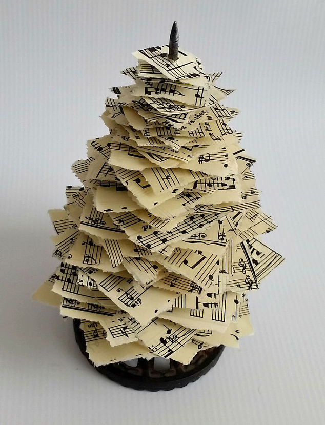 vintage-paper-spike-sheet-music-christmas-trees-christmas-decorations-crafts-repurposing-upcycling.jpg
