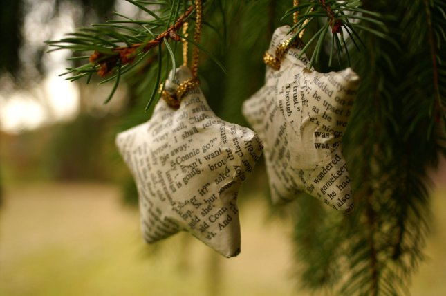 book-page-wrapped-star-ornaments-modern-christmas.jpg