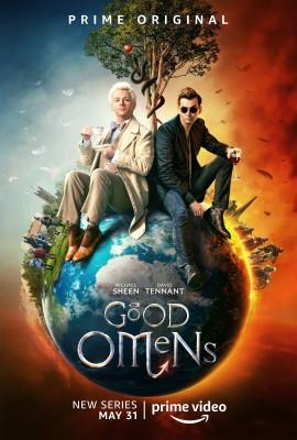 GOOD OMENS, une mini-série d'après l'ouvrage signé Terry Pratchett et NeilGaiman…
