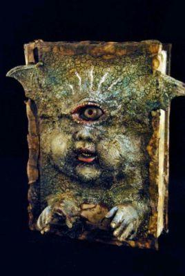 LES FAUX LIVRES DE MAGIE : décoration pour Halloween…