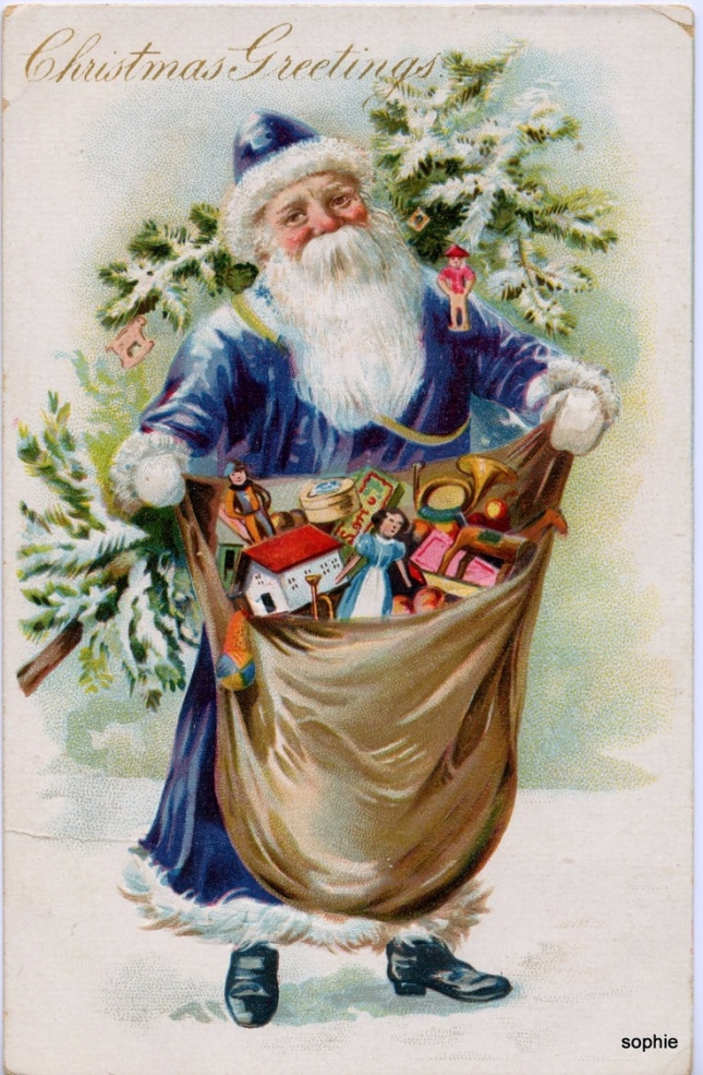 2313ddf16545a14522060bb7121a233f--santa-christmas-blue-christmas
