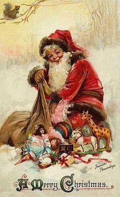 54e868b711698f9b70d0d2986dafd14d--christmas-postcards-vintage-christmas-cards
