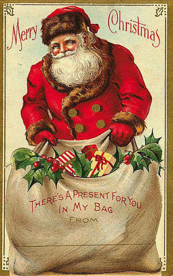 Antique-Christmas-Santa-Postcards-and-Vintage-Illustrations-24